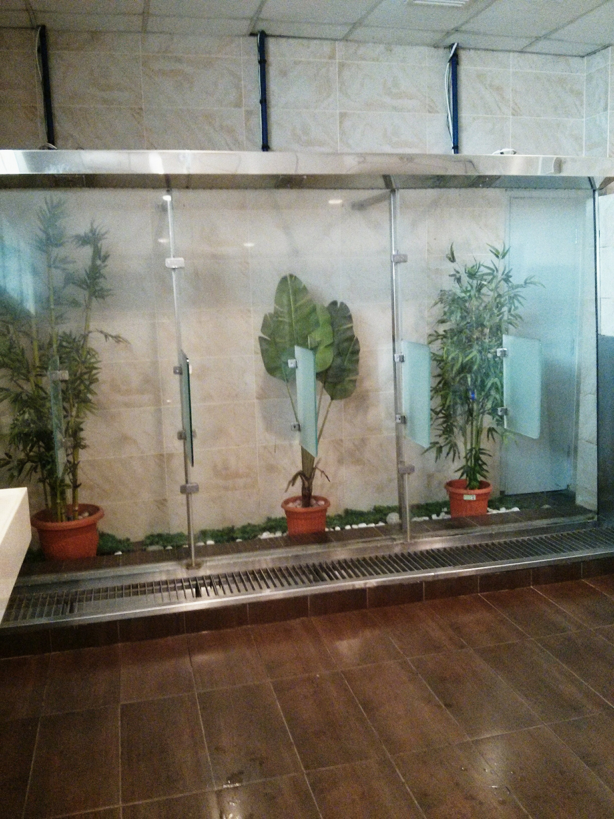 Natural plant Urinals